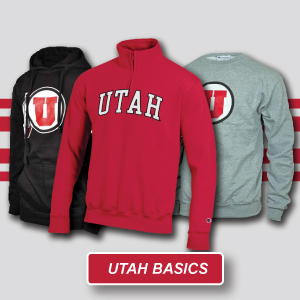 Utah Utes Basic Hoodies