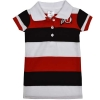Athletic Logo Striped Polo Infant Dress
