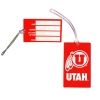 University of Utah Luggage Tag