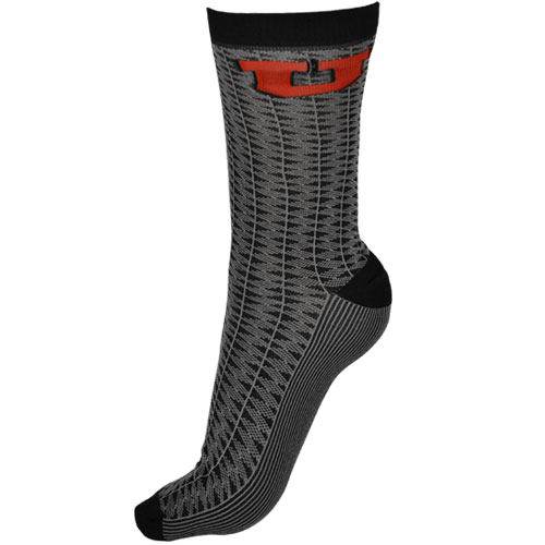 Mens Block U Dress Socks