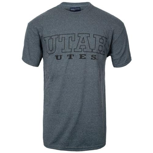 Bargain Utah Utes Charcoal T-Shirts