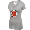 Women's Junior Cut Athletic Logo V-Neck T-Shirts thumbnail