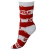 Utah Utes Stripes Socks