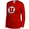 Athletic Logo Junior Cut Long Sleeve Shirt
