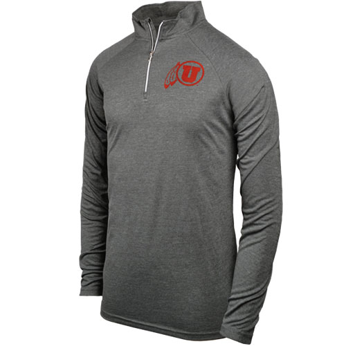 Mens U Athletics Quarter Zip Warm Up