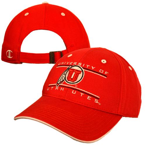 Champion University of Utah Athletic Logo Hat