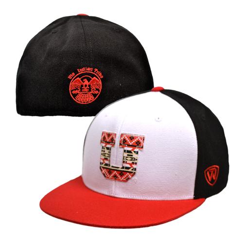 University of Utah Ute Proud Top of the World Block U Hat