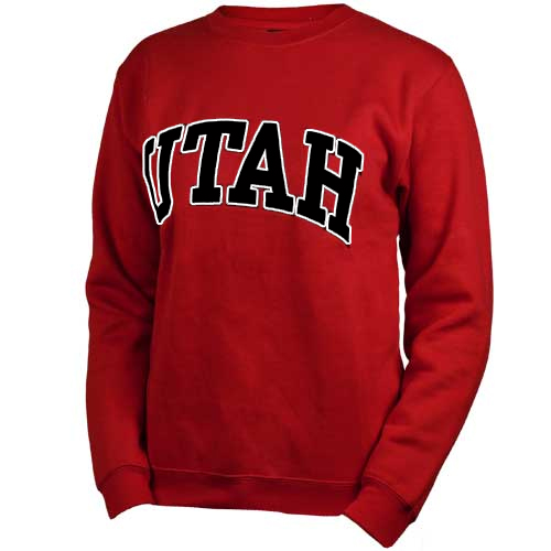 Champion Women's UTAH Crew Neck Sweatshirt