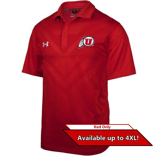 Utah Utes 2015 Under Armour Coaches Polo
