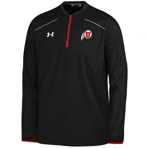University of Utah Athletic Logo Under Armour Quarter Zip