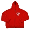 Utah Athletic Logo Youth Full Zip Hoodie