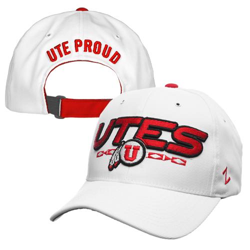 Utah Utes Zephyr Athletic Logo Ute Proud Hat
