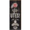 Utah Utes Wall Mount Bottle Opener