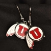 Utes Athletic Logo Earrings
