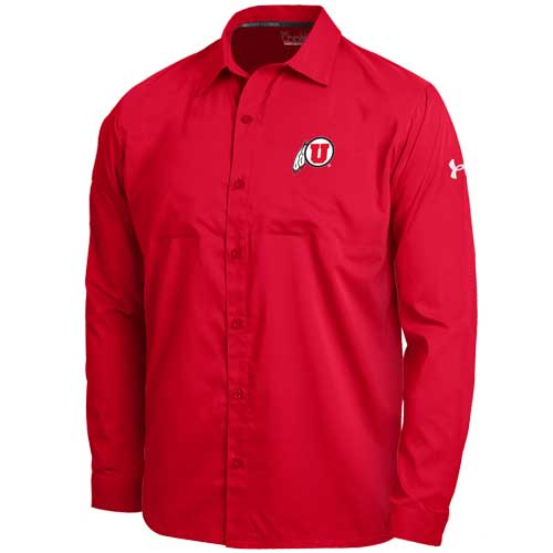Utah Under Armour Button Up Shirt