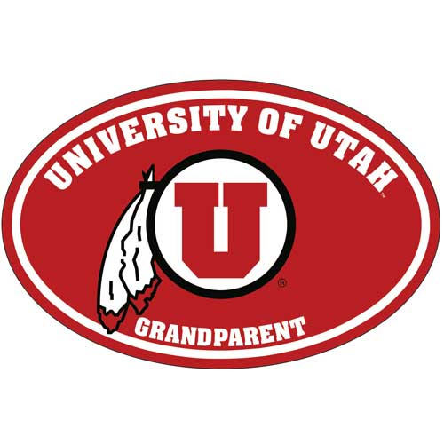 University of Utah Grandparent Decal