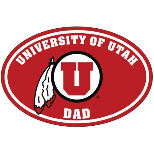 University of Utah Dad Decal