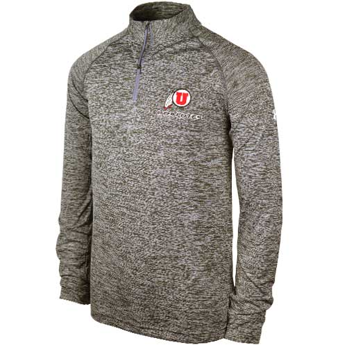 Mens Under Armour Athletic Logo Quarter Zip