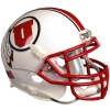Mini Utah Utes Athletic Logo Helmet with Stripes