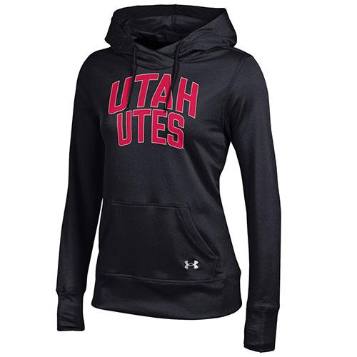 Utah Utes Womens Under Armour Semi Fitted Sweatshirt