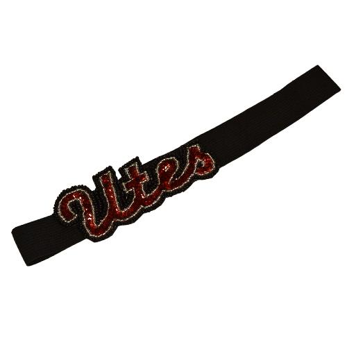 Utes Glitter Headband