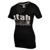 JanSport Utah Utes Est. 1850 Womens V-Neck Tee