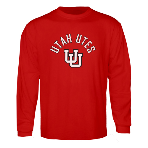 Utah Utes Interlocking U Long Sleeved Tee