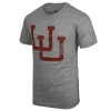 Utes Interlocking U Faded Tee