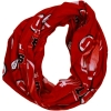 University of Utah Athletic Logo Print Infinity Scarf