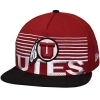 New Era Utes Athletic Logo Striped Snapback Hat