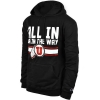All In or In the Way Champion Mens Hoodie