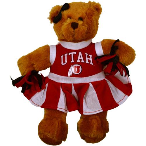 University of Utah Cheerleader Bear