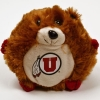 University of Utah Plush Athletic Logo Hamster