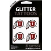 Athletic Logo Glitter Tattoos