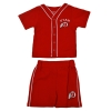 Utah Athletic Logo Baseball Infant Two Piece Set