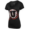 47 Brand Athletic Logo Womens V-Neck T-Shirt