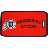 University of Utah Embroidered Luggage Tag