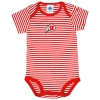 Athletic Logo Striped Onesie