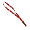 Repeating Block U Detachable Lanyard