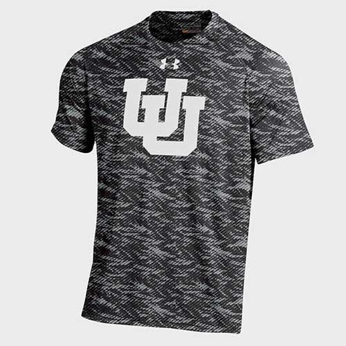 Under Armour Carbon Fiber Interlocking U T-shirt