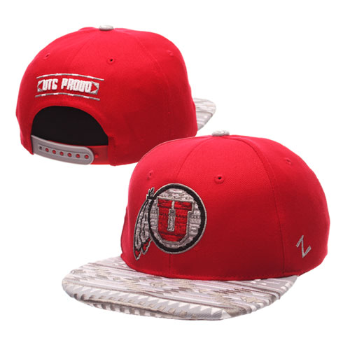 Zephyr Ute Proud Athletic Logo Adjustable Aztec Red Hat