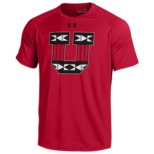 Under Armour Block U Tribal Pattern Loose Mens T-Shirt