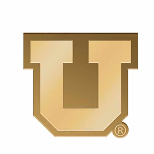 Block U Gold Lapel Pin