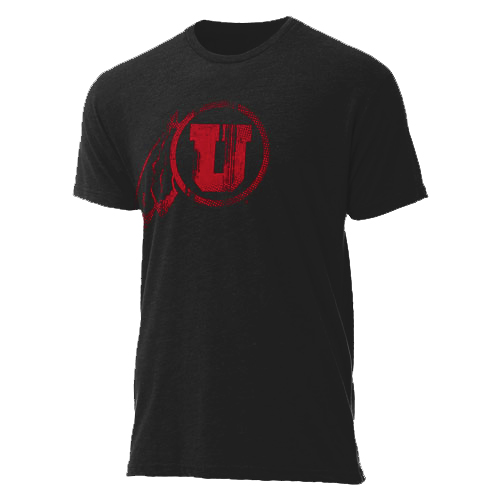 Ouray Distressed Athletic Logo T-Shirt