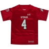 Under Armour Youth Utah Football Jersey Number 4