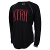 Womens University of Utah Swoop Hemline Long Sleeve