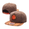 Zephyr Athletic Logo Orange Tone Snapback