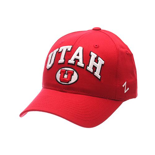 Zephyr Utah over Block U Rounded Brim Snapback