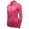 Under Armour Athletic Logo Womans Striped Knit Quarter Zip