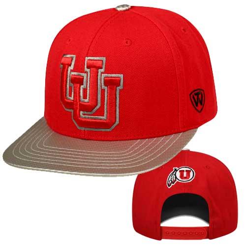 Utah Utes 3D Interlocking U Hat